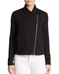 Helmut Lang Double-zip Knit Jacket - Lyst