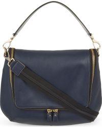 Anya Hindmarch Maxi Zip Leather Satchel - Lyst