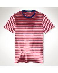 Polo Ralph Lauren Striped Jersey T-Shirt - Lyst