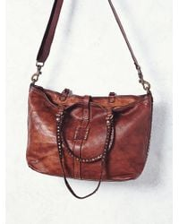 Free People | Campomaggi Womens Naples Distressed Tote | Lyst