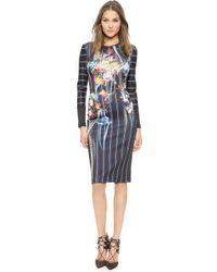Clover Canyon George Bernard Shaw Dress  Multi - Lyst