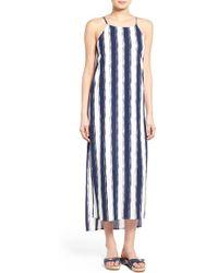 Sienna Sky - High Neck Midi Dress - Lyst