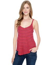 Splendid New Haven Stripe Cami - Lyst