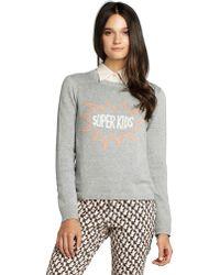BCBGeneration Long-Sleeve Sweater - Lyst
