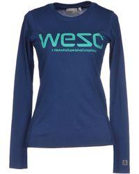 Wesc T-shirt - Lyst