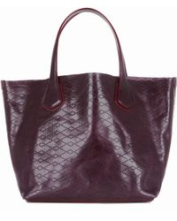 MZ Wallace - Jf Tote Currant Leather - Lyst