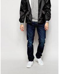 Bellfield - Washed Indigo Jeans In Slim Fit - Lyst