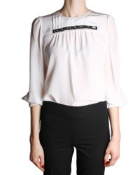 Marc Jacobs | White Blouse | Lyst