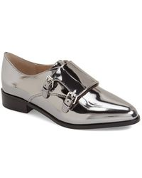French Connection - Lorinda Faux-Leather Loafers - Lyst
