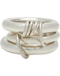 Spinelli Kilcollin Sterling Silver Hydra Ring - Lyst