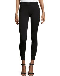 Halston Heritage Tapered-cuff Leggings - Lyst