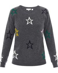 Chinti & Parker Star-Intarsia Sweater - Lyst