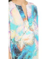 BCBGMAXAZRIA - Dove Dress - Bright Aqua Combo - Lyst