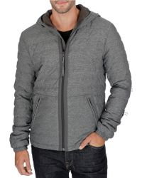 Lucky Brand - Hooded Zip-front Jacket - Lyst