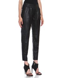 Nicholas Leather Track Pants - Lyst
