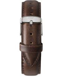 Daniel Wellington - 'classic Bristol' 20mm Leather Watch Strap - Lyst