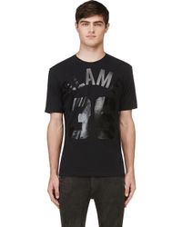 Diesel Black Gold Printed Teoria Blame T-Shirt - Lyst