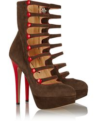 Charlotte Olympia Hermione Suede Ankle Boots - Lyst