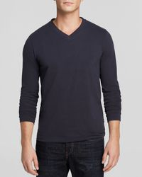 Boss by Hugo Boss V-Neck Long Sleeve Tee - Lyst
