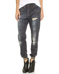 Rag & Bone The Pajama Jeans Sheffield - Lyst