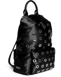 McQ by Alexander McQueen Metal Eyelet Nylon Backpack - Lyst