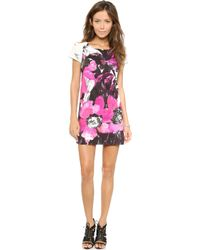 Milly Chloe Dress  Multi - Lyst