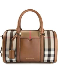 Burberry Medium Sartorial Bowling Bag - Lyst