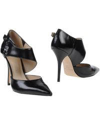 Elizabeth And James Black Shoe Boots - Lyst