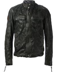 HTC Hollywood Trading Company - Skeleton Leather Jacket - Lyst