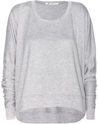 T By Alexander Wang Enzyme Jersey Top - Lyst