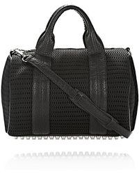 Alexander Wang - Rocco in Mesh Black with Rhodium - Lyst
