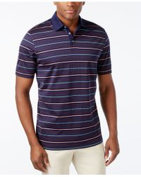Cutter & Buck - Men's Big And Tall Helios Mercerized Stripe Polo - Lyst