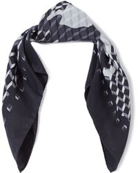 Pierre Hardy - Black Vintage Silk Scarf - Lyst