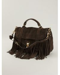 Proenza Schouler Fringed Ps1 Tote - Lyst