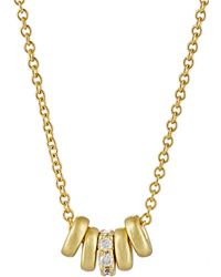 Tate - Women's Multi-ring Necklace - Lyst