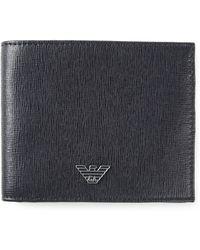 Emporio Armani Logo Wallet - Lyst