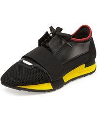 Balenciaga Bi-color Trainer Sneaker - Lyst