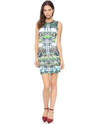 Clover Canyon Emerald Isle Sleeveless Dress Multi - Lyst
