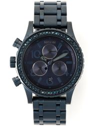 Nixon '38-20 Chrono' Watch - Lyst