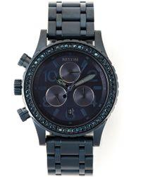 Nixon '38-20 Chrono' Watch - Lyst