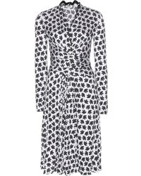 Issa Phylis Printed Silk Dress - Lyst