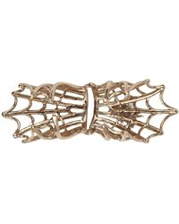 Bernard Delettrez - Articulated Gold Spider Web Ring - Lyst