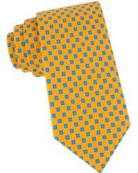 Ted Baker - Geo Neat Cotton Tie - Lyst