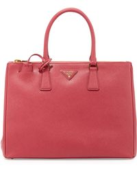 Prada Saffiano Executive Tote Bag - Lyst