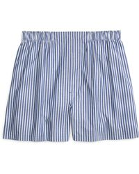 Brooks Brothers Traditional Fit Split Stripe Boxers - Lyst