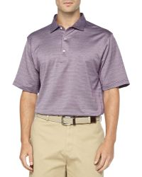 Peter Millar Jacquard Collection Short Sleeve Knit Polo - Lyst