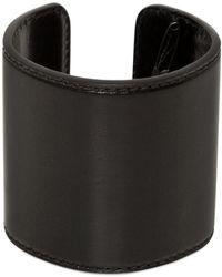 Ann Demeulemeester - Leather Cuff Bracelet - Lyst