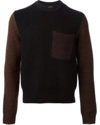 Kenzo Crew Neck Sweater - Lyst