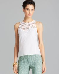 Nanette Lepore Top Terrace Lace - Lyst