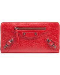 Balenciaga | Classic Continental Zip Around | Lyst